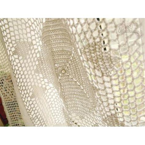 crochet shower curtain boho shower curtain crochet shabby rustic chic burlap