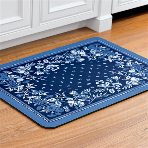 Padded Kitchen Rugs Provence Cushioned Kitchen Mat Williams Sonoma