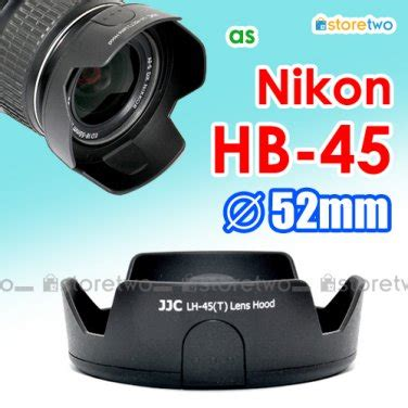 Lens Jjc Hb 45 Replaces Nikon Hb 46 hb 45 jjc tulip lens for nikon af s 18 55mm f 3 5 5 6g vr dx nikkor