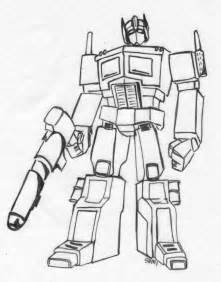 coloring pages optimus prime truck Page 2 images