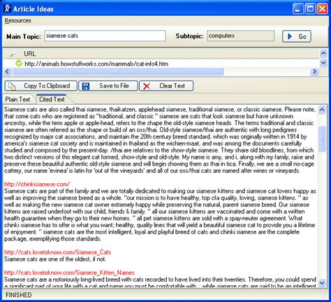 article ideas software free article ideas software to