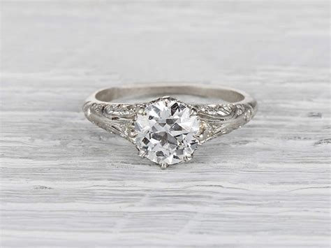 antique engagement rings cheap the antique engagement