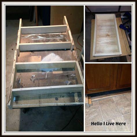 under cabinet drawers kitchen under cabinet drawers hometalk