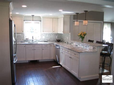 transitional kitchen renovation  design