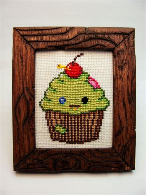 cute zombie pattern cute zombie cupcake cross stitch pattern cute cross