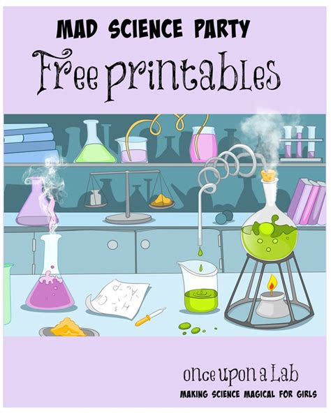 printable science party decorations 83 best images about mad science party on pinterest