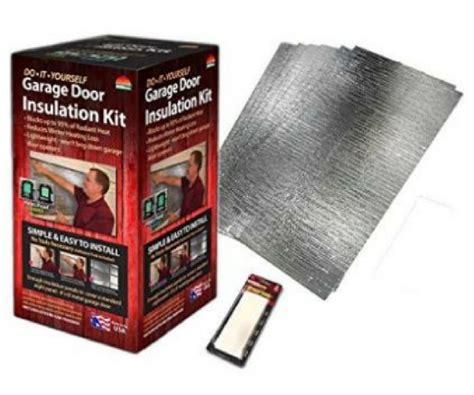Garage Door Insulation Kit Menards by Diy Garage Door Insulation Kit For 30