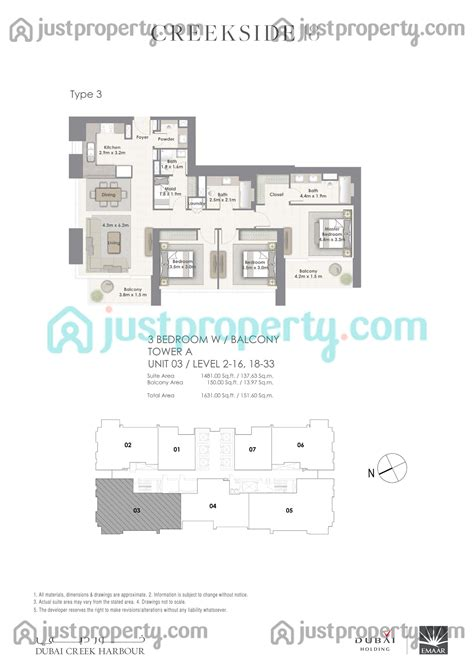 18 harbour street floor plans dubai creek harbour floor plans justproperty com