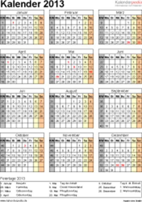 Vorlage Word Jahreskalender Kalender 2013 Word Zum Ausdrucken 12 Vorlagen Kostenlos