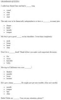 grammar quizzes pdf