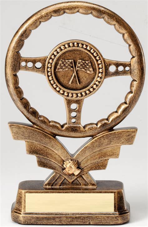 steering wheel race autotruck trophy awardtrophy trolley