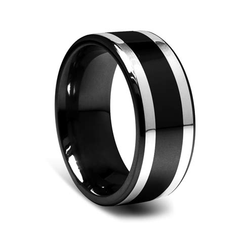 Black Wedding Rings by Ngagement Rings Finger Mens Engagement Rings Black
