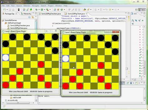design game in java board game framework cse219 java project youtube