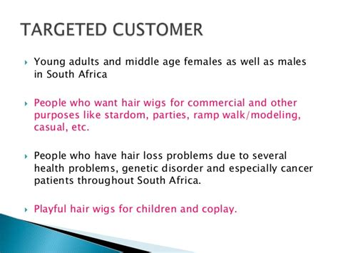 Hair Accessories Business Plan by Business Plan For Mobile Commerce