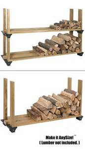 firewood rack indoor wood racks bracket kit do it yourself