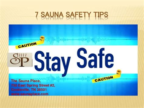 7 Tips For Security by 7 Safety Tips For Sauna