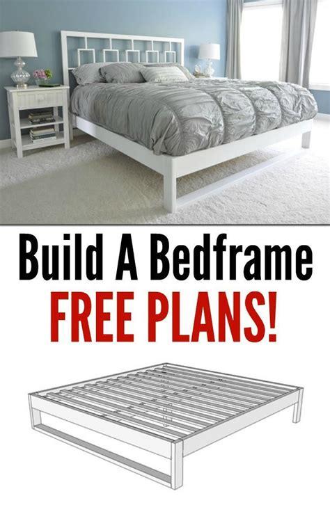 simple bedframe tutorial scrapworklove getbuilding