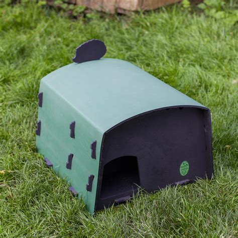 Hedgehog Feeder eco hedgehog feeding station elite ecology uk