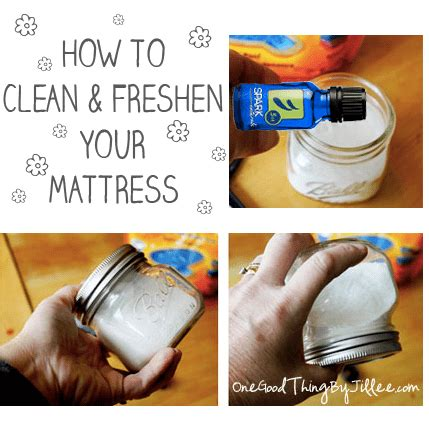 how to clean a bed how to clean and freshen your mattress one good thing by