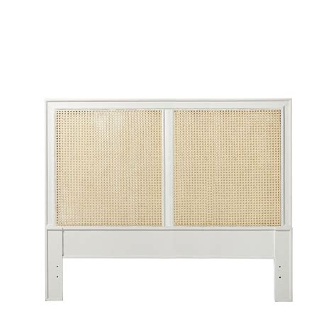 cane headboards harbour cane headboard white serena lily lu