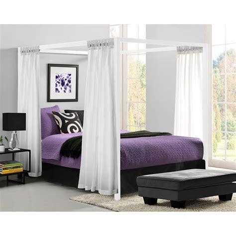 metal bed frame no box modern canopy metal bed white platform bed frame no