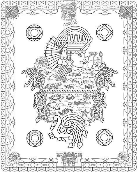 aztec coloring pages pdf 96 aztec designs coloring book pdf geometric