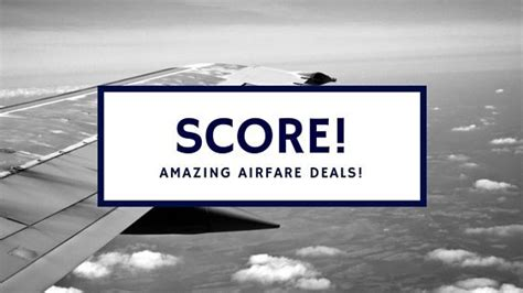 10 ways to score great airfare deals marocmama