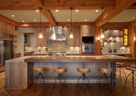 cuisine rustique  son charme naturel  interieurs elegants