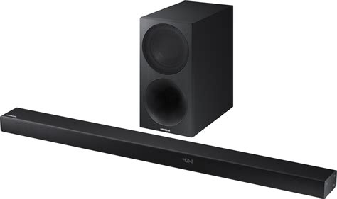 samsung 3 1 channel sound bar with wireless subwoofer hw m550 za