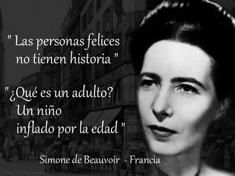 famosas frases celebres de madre teresa carlosgandaracom el blog mujeres famosas simone de beauvoir francia