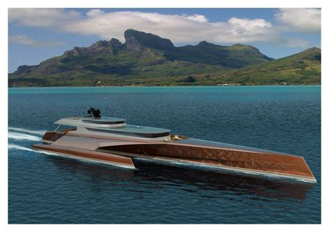trimaran power new 60m power trimaran unveiled by blue coast yachts
