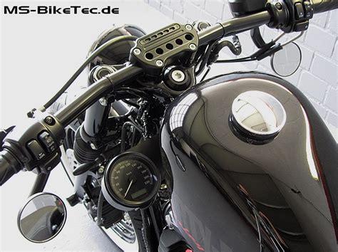 Motorrad Mit Hohem Lenker by Seitlicher Tachohalter F 252 R Sportster Modelle Halter