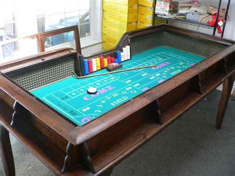 craps coffee table vintage 1930s riverboat casino craps table w custom top ebay