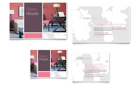 interior design layout free interior designer note card template design