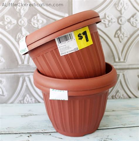 diy 4th of july planters dollar store crafts a