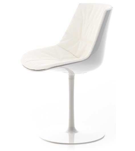 Chaise Avec Pied Central by Flow Chair Chaise Rembourr 233 E Avec Pied Central Mdf Italia