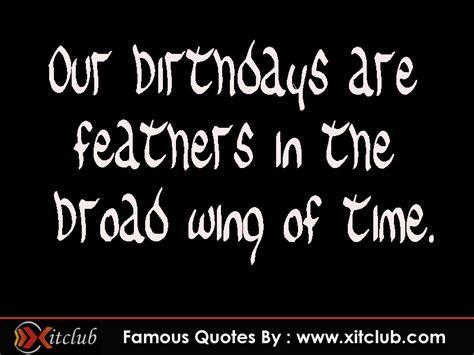 Brainy Quotes On Birthday Famous Birthday Quotes Quotesgram