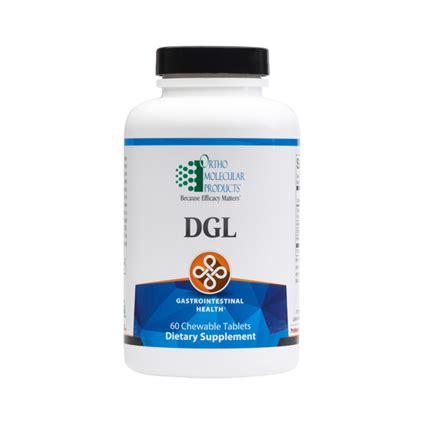 Dgl Detox by Ortho Molecular Dgl Chewable Centrespring Md