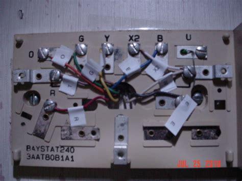 trane weathertron thermostat wiring diagram efcaviation