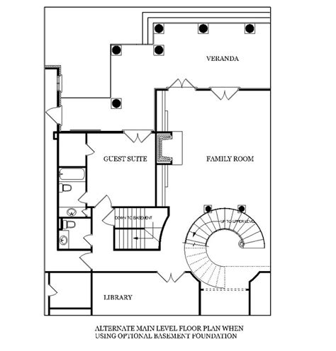 stairs in floor plan magnolia place 5400 3612 4 bedrooms and 4 baths the house designers