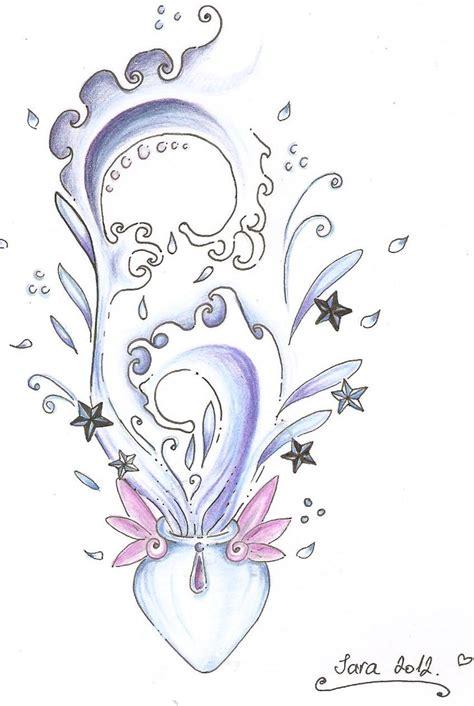 aquarius tattoo design by aquaganymedes on deviantart