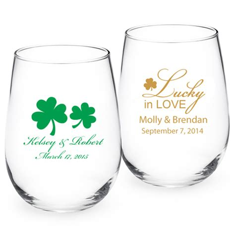 wedding favors wine glasses personalized stemless wine glass exclusive