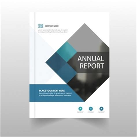 corporate annual report template report vectors photos and psd files free