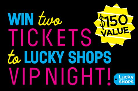 Lucky Shops Giveaway by Giveaway Tickets To Lucky Shops My Style Pill