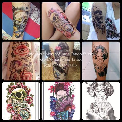 tattoo temporary singapore temporary tattoos memory lane tattoo studio singapore