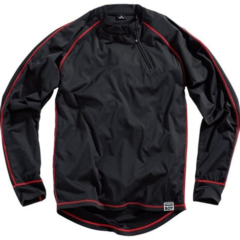 thermoboy stormproof functional shirt black