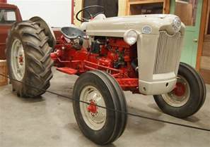 Ford Jubilee Tractor 1953 Ford Golden Jubilee Tractor 3 Photohraphed At The