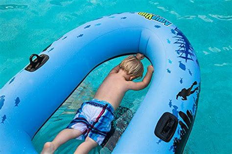 clear bottom inflatable boat aquavue voyager clear bottom inflatable review toys demo