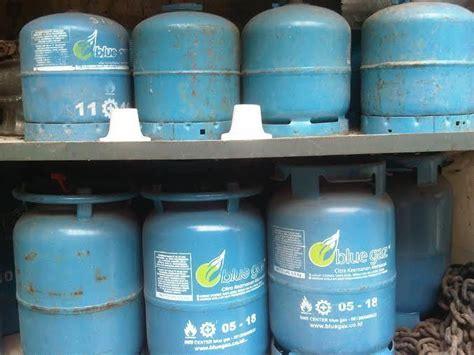 Tabung Blue Gas 12 Kg meski harganya naik elpiji 12 kg masih lebih murah dari