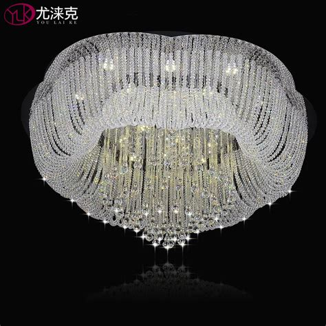 china manufacturers home decor crystal ceiling light buy aliexpress com buy flower design living room l for